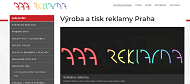 WEBSEITE Svetelna reklama Praha
