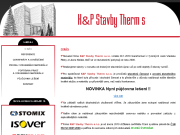 WEBSEITE K&P Stavby Therm s.r.o.