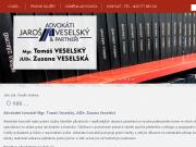 WEBOVÁ STRÁNKA Advok�tn� kancel�� Ostrava - Mgr. Tom� Veselsk�