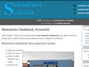 WEBOVÁ STRÁNKA Sklenářství Sedláček Jozef Sedláček