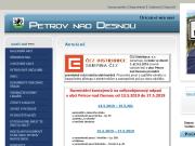 WEBOVÁ STRÁNKA Obec Petrov nad Desnou