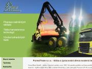 WEBOVÁ STRÁNKA FOREST TEAM s.r.o.