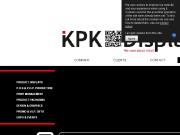 WEBOVÁ STRÁNKA KPK DISPLAYS s.r.o. výstavní expozice, výroba stojanů