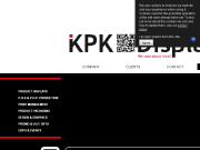 SITO WEB KPK DISPLAYS s.r.o. vystavni expozice, vyroba stojanu