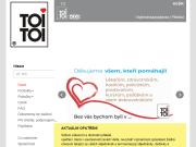 SITO WEB TOI TOI, sanitarni systemy, s r.o. Pronajem mobilni toalety Brno