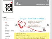 SITO WEB TOI TOI, sanitarni systemy, s r.o. Pronajem mobilni WC Ceske Budejovice