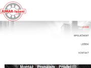 SITO WEB Fasadni leseni Praha Jumar-leseni.s.r.o.