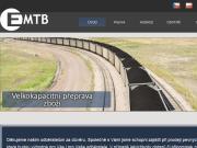 Strona (witryna) internetowa EMTB Trade s.r.o.