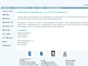 WEBOVÁ STRÁNKA DELTA Technologie s.r.o.