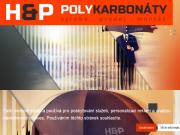 WEBOVÁ STRÁNKA H&P Polykarbonáty s.r.o