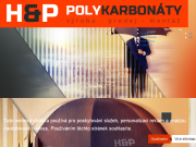 SITO WEB H&P Polykarbonaty s.r.o