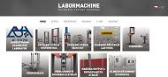 SITO WEB Labormachine s.r.o. Trhaci stroje a tvrdomery