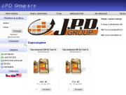 WEBOVÁ STRÁNKA J.P.D. GROUP, s.r.o.