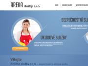 WEBOVÁ STRÁNKA Areka slu�by s.r.o.