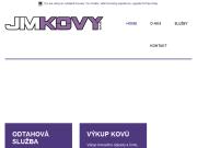 WEBOVÁ STRÁNKA JM - KOVY s.r.o. Kovošrot Bruntál