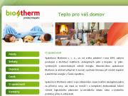 WEBOVÁ STRÁNKA Biotherm s.r.o.
