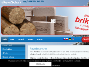 SITO WEB RevoSolar, s.r.o. Eco Fuel