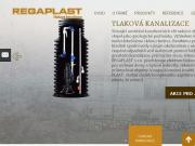 WEBOVÁ STRÁNKA REGAPLAST s.r.o. tlaková kanalizace Praha