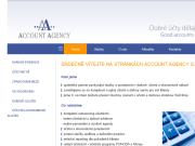 WEBOV� STR�NKA Account agency s.r.o. ��etn� a da�ov� kancel��