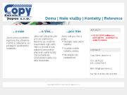 WEBOVÁ STRÁNKA Copy Servis Japos s.r.o.