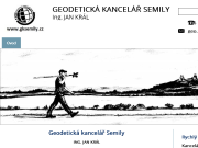 SITO WEB Geodeticka kancelar Semily Ing. Jan Kral, geodet