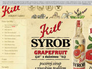 SITO WEB Kitl s.r.o. Vyrobce sirupu, medovin a vin