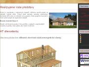 WEBOVÁ STRÁNKA KT dřevostavby