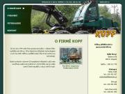 WEBOVÁ STRÁNKA Kopf Václav & Jiří, s.r.o. - Těžba a přibližování dřeva