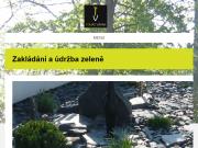WEBOVÁ STRÁNKA Zahrady Tomáš Vávra