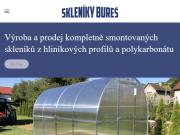 WEBOVÁ STRÁNKA Skleníky Bureš Ondřej Bureš