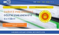 WEBSEITE Ing. Edita Szwedova - Ucetni kancelar Deusz www.ucetni-havirov.cz