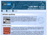 WEBOVÁ STRÁNKA LUK-MAT, s.r.o.