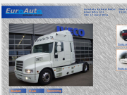 WEBOVÁ STRÁNKA EuroAuto Prodej nákladní automobily Plzeň