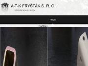 WEBOVÁ STRÁNKA A-T-K Fryšták s.r.o.