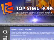 WEBOVÁ STRÁNKA TOP-STEEL BOHEMIA, s.r.o.