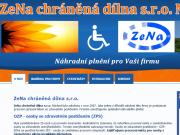 WEBOVÁ STRÁNKA ZeNa, chráněná dílna s.r.o.