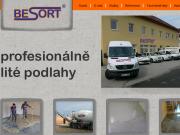 WEBOVÁ STRÁNKA Besort team, s.r.o.