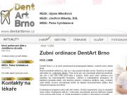 WEBOVÁ STRÁNKA DentArt Brno s.r.o. Zubní ordinace