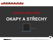 WEBOVÁ STRÁNKA ROMAX CZ, s.r.o. Výrobce lehké střešní krytiny Morava