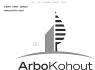 WEBOVÁ STRÁNKA ArboKohout Robert Kohout