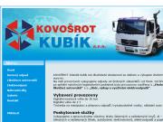 SITO WEB Kovosrot Kubik s.r.o.