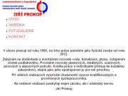 WEBOVÁ STRÁNKA Jiří Prokop - Instalatérství