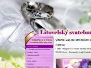 WEBOVÁ STRÁNKA Litovelsk� svatebn� servis Pavl�na P��hodov�