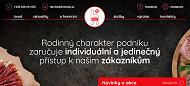 WEBOVÁ STRÁNKA Havlíčkovo řeznictví a uzenářství Tomáš Havlíček
