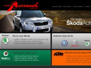 SITO WEB Autonova - servis Seat, VW