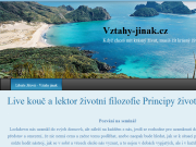 Strona (witryna) internetowa Vztahy jinak - Libuse Jisova | www.vztahy-jinak.cz