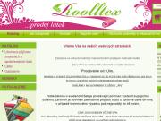 WEBOVÁ STRÁNKA Rooltex s.r.o. Prodej látek, galanterie