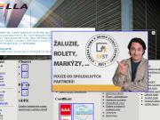 SITO WEB HELLA stinici technika s.r.o. Vyroba prodej zaluzie rolety markyzy