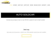WEBOVÁ STRÁNKA AUTO GOLDCAR, a.s.