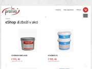 WEBOVÁ STRÁNKA Profila Trade s.r.o. Brno